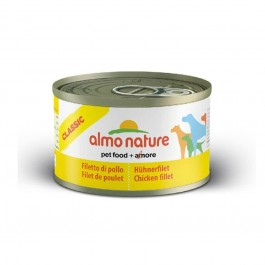 Almo Nature Chien Classic Filet de poulet 24 x 95 grs - Dogteur