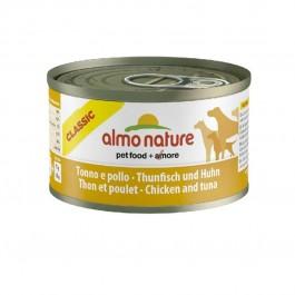 Almo Nature Chien Classic Thon et poulet 24 x 95 grs - Dogteur
