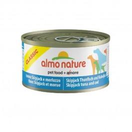 Almo Nature Chien Classic Thon Skipjack et Morue 24 x 95 grs - Dogteur