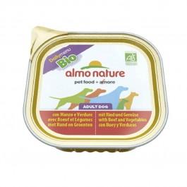 Almo Nature Chien Daily Menu Bio Veau et Legumes 32 x 100 grs - Dogteur