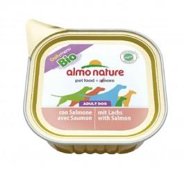 Almo Nature Chien Daily Menu Bio Saumon 32 x 100 grs - Dogteur