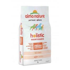 Almo Nature Chien Holistic Large Poulet et riz 12 kg- La Compagnie des Animaux