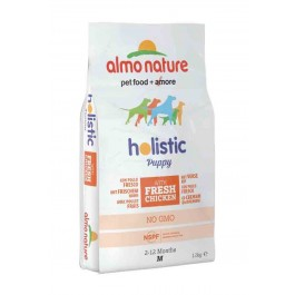 Almo Nature Chien Holistic Medium Puppy Poulet et riz 12 kg - Dogteur