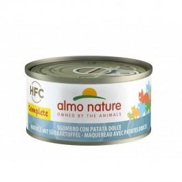 Almo Nature Chat Complete HFC Maquereau Pomme de Terre sans céréales 24 x 70 g - Dogteur