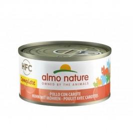 Almo Nature Chat Complete HFC Poulet Carottes sans céréales 24 x 70 g - Dogteur
