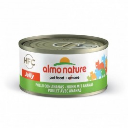Almo Nature Chat HFC Jelly Poulet et Ananas 24 x 70 g - Dogteur