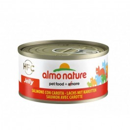 Almo Nature Chat Jelly HFC Saumon avec Carotte 24 x 70 grs - Dogteur