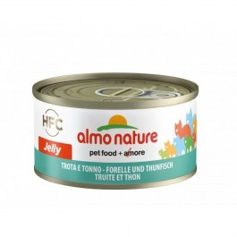 Almo Nature Chat Jelly HFC Truite et Thon 24 x 70 grs - Dogteur