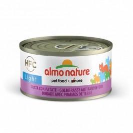 Almo Nature Chat Light HFC Dorade et Pomme de Terre 24 x 70 g - Dogteur