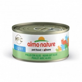 Almo Nature Chat Light HFC Poulet et Aloe 24 x 70 g - Dogteur