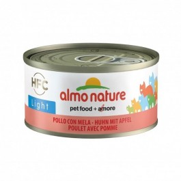 Almo Nature Chat Light HFC Poulet et Pomme 24 x 70 g - Dogteur