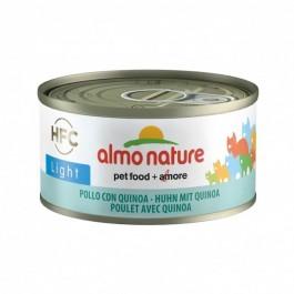 Almo Nature Chat Light HFC Poulet et Quinoa 24 x 70 g - Dogteur