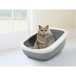 Bac à litière chat Savic Aseo Gris - Dogteur