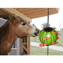 Balle à jouer thérapeutique pour chevaux - Dogteur