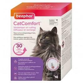 Beaphar CatComfort Diffuseur et recharge pour chats et chatons - Dogteur