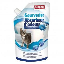 Beaphar granulés absorbeurs d'odeurs litière 400 g - Dogteur