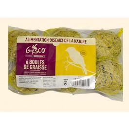 Gasco Boules de graisse pour oiseaux de jardin x 6 - Dogteur