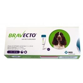 Bravecto Spot-On Chien moyen 10-20 kg 1 pipette - Dogteur