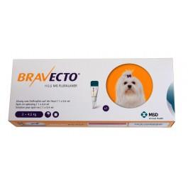 Bravecto Spot-On Chien moyen 2-4,5 kg 1 pipette - Dogteur