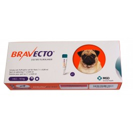 Bravecto Spot-On Chien moyen 4,5-10 kg 1 pipette - Dogteur