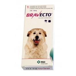 Bravecto Très grand chien 40 à 56 kg 1 comprimé - Dogteur