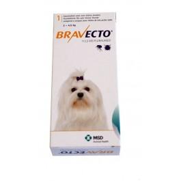 Bravecto Très petit chien 2 à 4,5 kg 1 comprimé - Dogteur