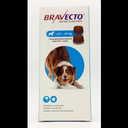 Bravecto Grand chien  20 à 40kg 2 cps- La Compagnie des Animaux
