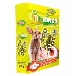 Bubimex Fit Rings pour rongeurs 250 g - Dogteur