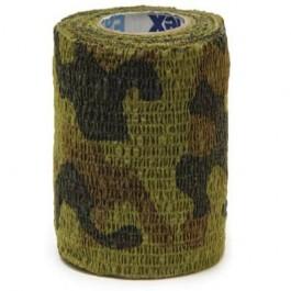 Bandes Cohésives 7.5 cm Camouflage - Dogteur