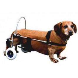 Chariot Canis Mobile pour chien paralysé du train arrière MM - Dogteur