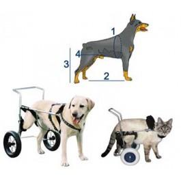 Chariot Canis Mobile pour chien paralysé du train arrière PM - Dogteur