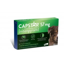 Capstar 57 mg pour chien - Dogteur