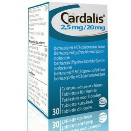 Cardalis 2,5/20 mg 30 cps - Dogteur