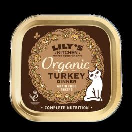 Lily's Kitchen Organic Délice de Dinde Bio pour Chat 19 x 85 g - Dogteur