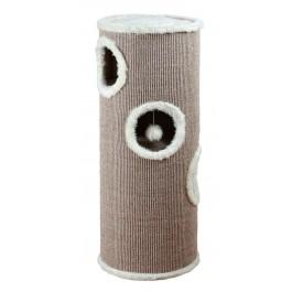 Trixie Cat Tower Edoardo pour Chat Diam 40 x H 100 cm Crème  - Dogteur
