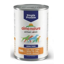 Almo Nature Chien Single Protein Poulet 24 x 400 grs - Dogteur