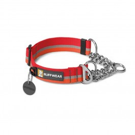 Collier Ruffwear Reaction Chain Rouge / Orange L - Dogteur