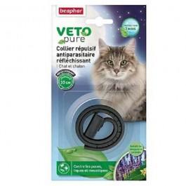 Beaphar VETOpure collier insectifuge réfléchissant Chat et chaton - Dogteur