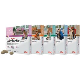 Comfortis Chien 140 mg 1,9 à 3 kg 6 cps - Dogteur