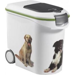 Container à croquettes 12 kg Curver modèle chien - Dogteur