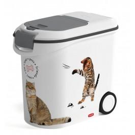 Container à croquettes 12 kg Curver modèle chat - Dogteur