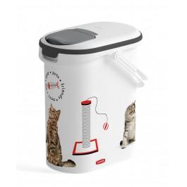 Container à croquettes 4 kg Curver modèle chat - Dogteur