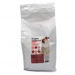 Dogteur Croquettes Premium sans céréales saumon et truite chien adulte 15 kg - Dogteur