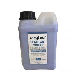 Démelant PRO Dogteur Creme Violet 1 L - Dogteur