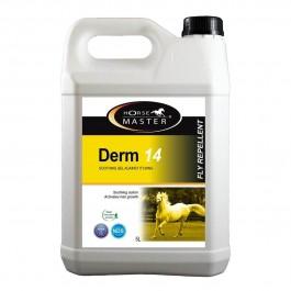 Derm 14 Pommade Gel contre la dermite estivale Cheval 5 L - Dogteur