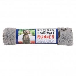DGS Dirty Dog Doormats Runner tapis gris - Dogteur