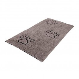 DGS Dirty Dog Doormats Runner tapis gris - Dogteur