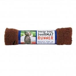 DGS Dirty Dog Doormats Runner tapis marron - Dogteur