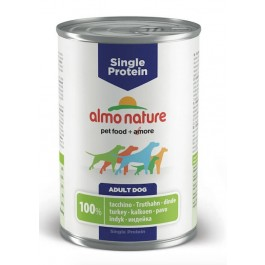 Almo Nature Chien Single Protein Dinde 24 x 400 grs - Dogteur
