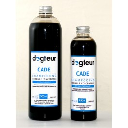 Offre Dogteur: 1  Shampooing PRO Dogteur Cade 10 L = 1 gant de toilettage offert - Dogteur